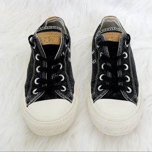 Converse All Star Black Sneakers Size 6